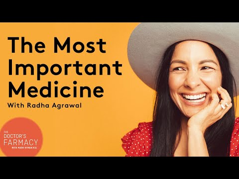 The Most Important Medicine for your Health and Longevity with Radha Agrawal