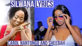 Sheebah Karungi   Silwana (Lyrics) Ft Carol Nantongo