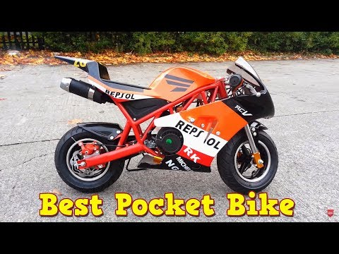 Ps50 Rocket Sport Pocket Bike Review