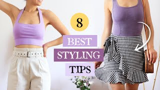 8 Best Styling Tips EVERY Girl Should Know For Summer! Casual Summer Outfits