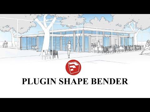 Hướng dẫn sử dụng plugin sketchup : Shape Bender | Diễn đàn Designer