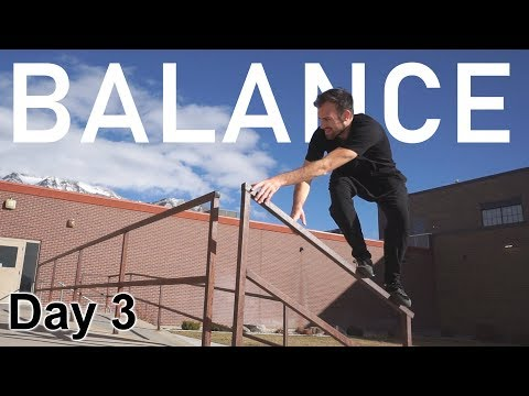Improve Your Balance Training | 30 Day Parkour Challenge: Day 3