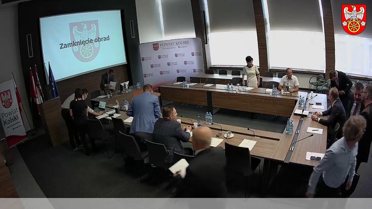 Zdjęcie do XII Sesja Rady Powiatu Kolskiego