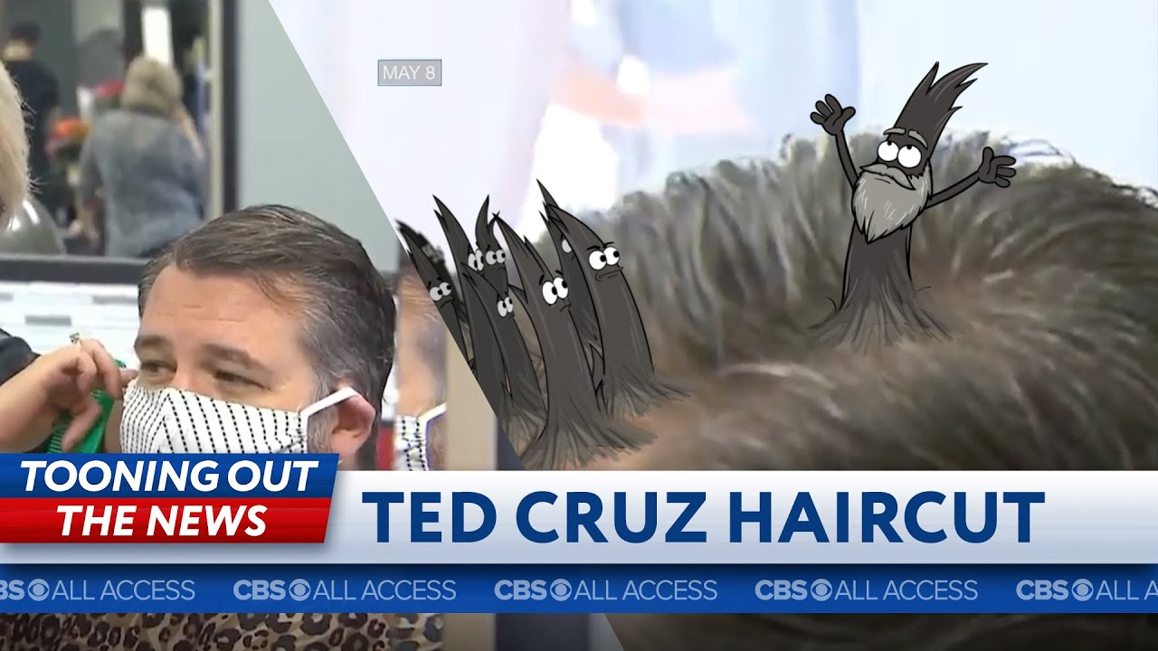 Ted Cruz's hairs seek deliverance from his head thumbnail