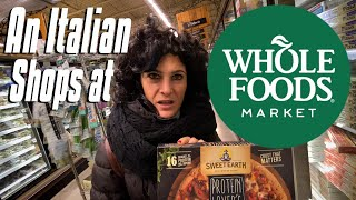 Italian Shops At Whole Foods For The First Time | Italian Shops In America