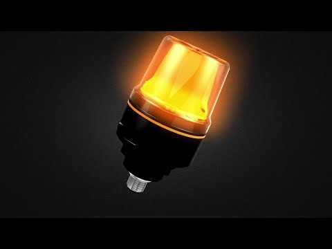 Very compact, but versatile signal lamp