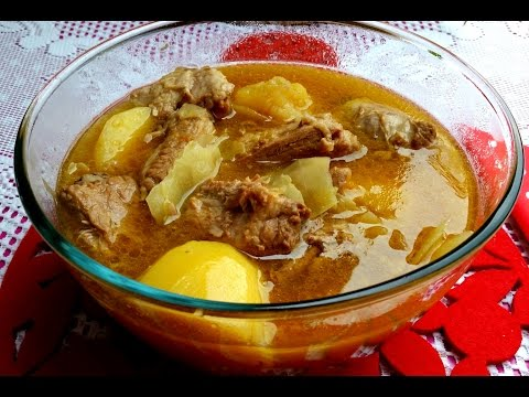 Boiled Pork Soup ( Hervida Cerdo Sopa )