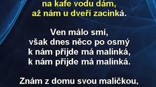 Má malinká - Pavel Novák Karaoke tip