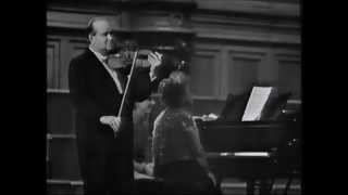 "David Oistrakh - Debussy Prelude ""A girl with flaxen hair"""