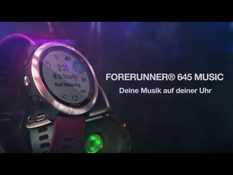 Garmin Forerunner 645 Music (42mm, Kunststoff, Silikon)