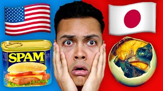 DISGUSTING FOOD from Around The World