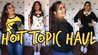 PLUS SIZE CLOTHING HAUL || HOT TOPIC
