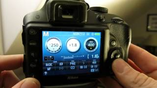 How to move the focus point on Nikon D3300