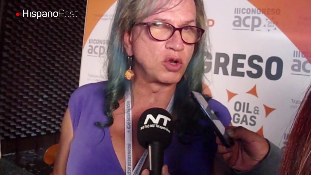 Bióloga transgénero dicta cátedra ambiental a petroleros colombianos