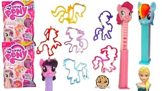 MLP Iconi Clips Complete Set , My Little Pony Blind Bag Surprises , Disney Frozen PEZ Candy
