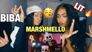 Marshmello x Pritam - BIBA feat. Shirley Setia  Reaction