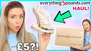 Trying £5 Clothing From Everything5Pounds.com... Is It a Scam!? AD