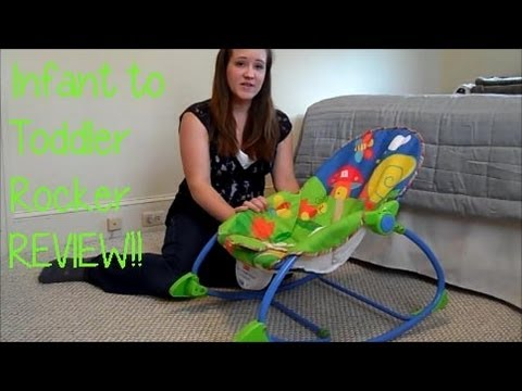 Fisher Price Infant to Toddler Rocker Seat REVIEW! – maymommy2011