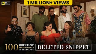 Deleted Snippet | Actors Adda | Anupama Chopra | Film Companion