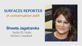 Designer Shweta Jagatramka in conversation with Surfaces Reporter