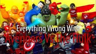 Everything Wrong With: Lego Avengers Vs The Hulk [Akashlegoproductions]
