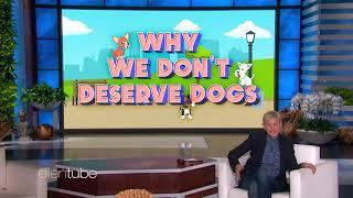 Ellen Proves Why We Don't Deserve Dogs