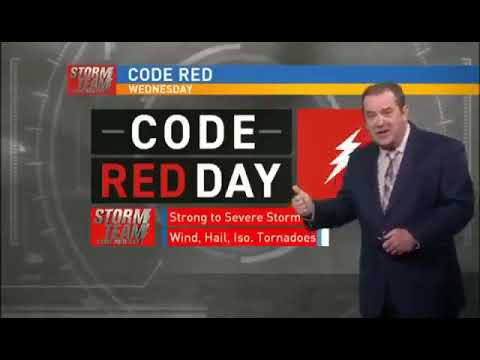My local weatherman calls out corporate forced 'Code Red Alert' To Viewers