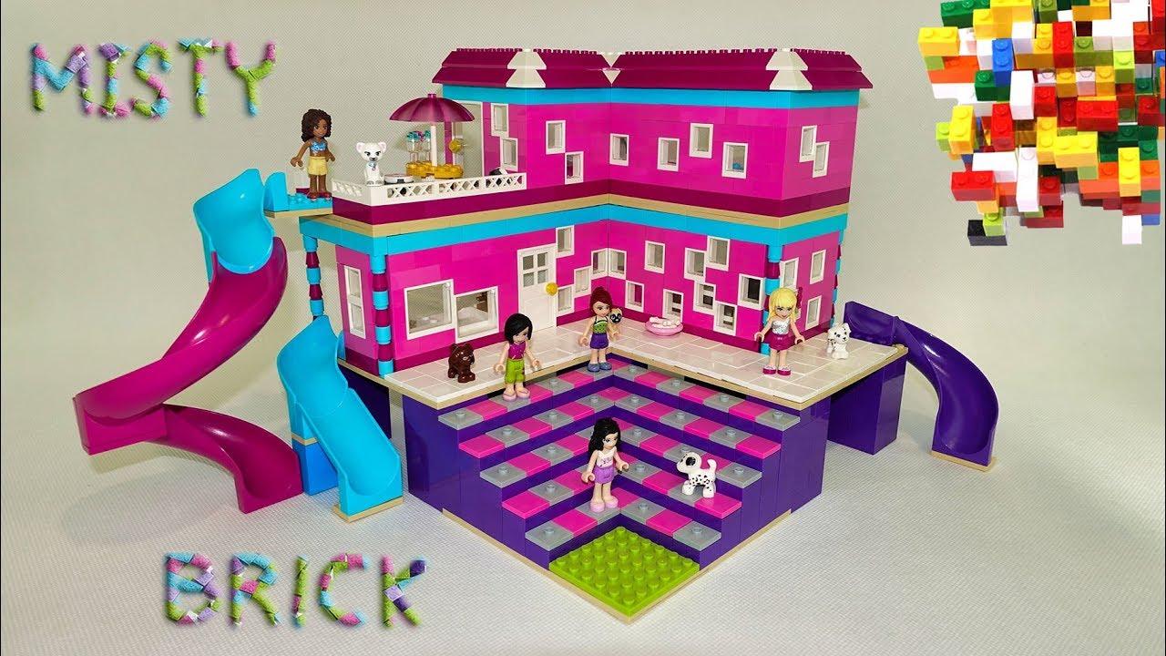 Lego Friend Crazy Slide House by Misty Brick.
