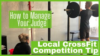 Local CrossFit Competition   How to Manage Your Judge