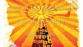 Toad the Wet Sprocket I will not take these things for granted lyrics