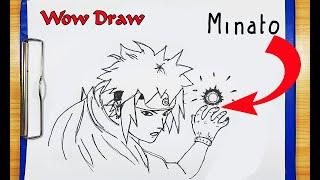 How To Draw Minato | How To Change from Minato to Naruto Minato characters | Drawing Minato