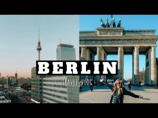 Berlin Germany Travel Vlog Euro Trip 2018