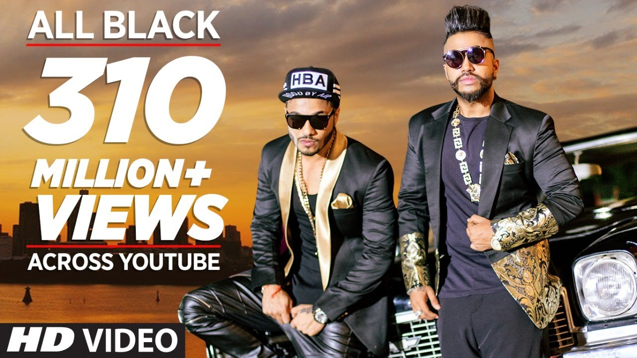 All Black Lyrics in Hindi| Sukhe, Raftaar Lyrics