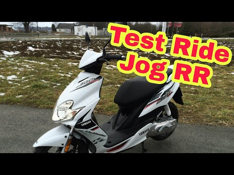 Test Ride : Yamaha Jog RR 49cc