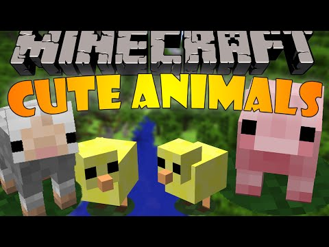 X Baby Animals Model Swapper Minecraft Mod - Skins para o minecraft baby