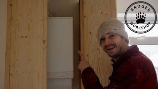 Making A Boiler Cupboard