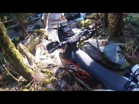 Bordom Hill Trail on KTM 690 Enduro R