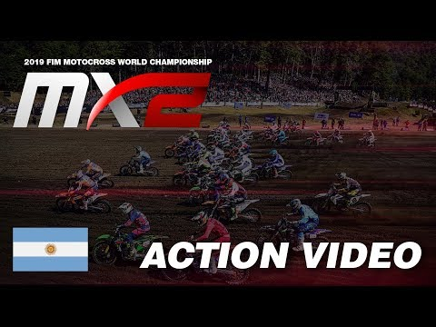 Henry Jacobi & Adam Sterry pass Tom Vialle - MXGP of Patagonia Argentina 2018