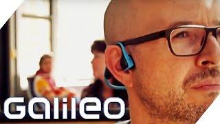 Musik hören mit Trekz - die innovativen Kopfhörer | Galileo Lunch Break