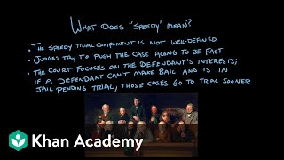 The Sixth Amendment | Civil liberties and civil rights | US government and civics | Khan Academy