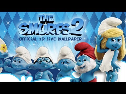 Video of The Smurfs 2 3D Live Wallpaper