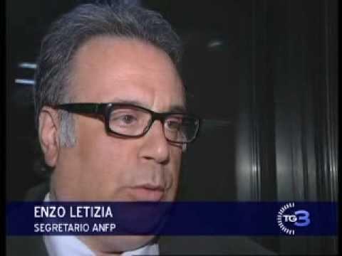 Intervento del Segretario Enzo Letizia al TG3