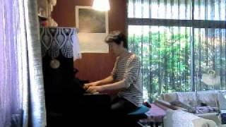 ピアノ演奏アシタカとサン(久石譲)