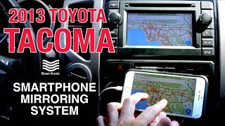 2012-2013 Toyota Tacoma iPhone Mirroring Adapter Beat-Sonic IF-02EP (Installation & Demonstration)
