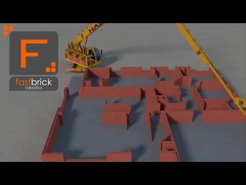 Une maison construite en deux jours par le robot Hadrian