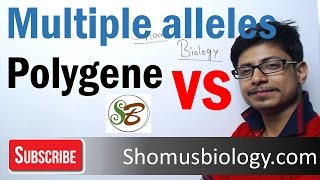 Difference Between Multiple Alleles And Polygenic Inheritance