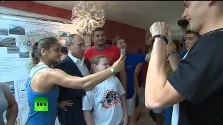 Путин побывал на сдаче спортивных нормативов «Студзачёт» в Сочи