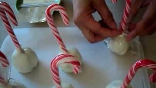 Reindeer Christmas Cake Pops