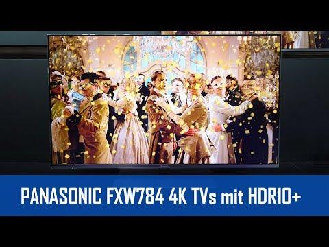 PANASONIC FXW754 & FXW784 4K TVs mit HCX-Prozessor und HDR10+