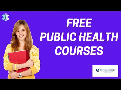 Free Public Health Courses - YouTube
